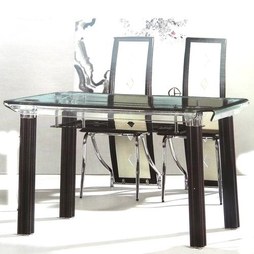 ПД118 Подстолье для стеклянного обеденного стола