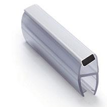 ПМ111-008СW  Профиль магнитный 135º, для стекла 10 мм, 2.2 м