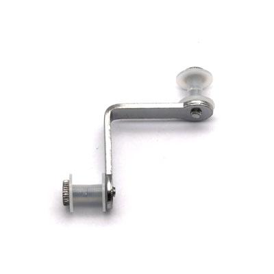 СВ50-24 Соединитель для стеклянных витрин двойной (винт М4)