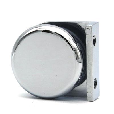К110-222 коннектор стена-стекло 90º
