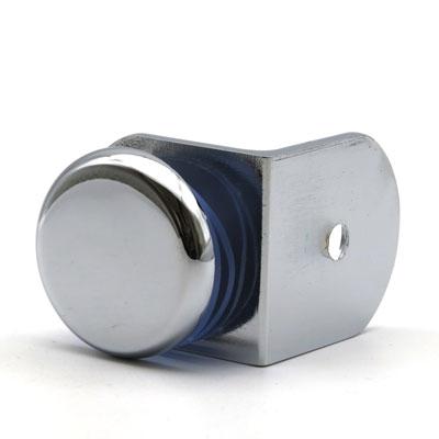 К110-224 коннектор стена-стекло 90º