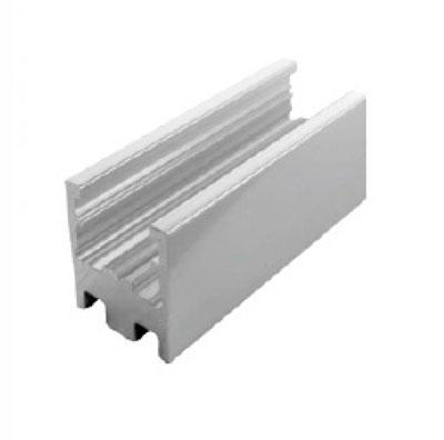 П2372 профиль стекло-пол для неподвижного стекла в душевую кабину