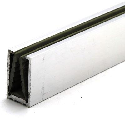 П1587-2200 профиль стекло-стена с уплотнителем из ПВХ для душевой кабины