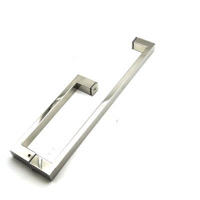 РС101 ручка-скоба двухстороняя для стеклянной двери 25х13х175х375