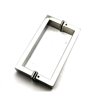 РС102 ручка-скоба двухстороняя для стеклянной двери 15х30х185