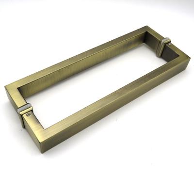 РС102 ручка-скоба двухсторонняя для стеклянной двери 15х30х285