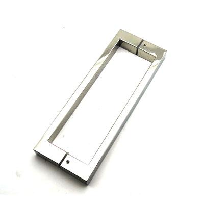 РС103 ручка-скоба двухсторонняя для стеклянной двери 25х13х375