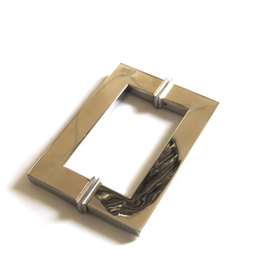 РС104 ручка-скоба двухсторонняя для стеклянной двери 15х30х370