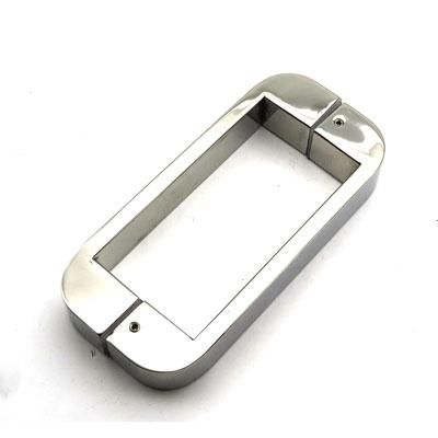 РС105 ручка-скоба двухсторонняя для стеклянной двери 10х30х220