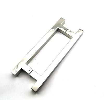РС111 ручка-скоба двухсторонняя для стеклянной двери 25х25х300
