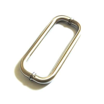 РС113 ручка-скоба двухсторонняя для стеклянных дверей 25х475