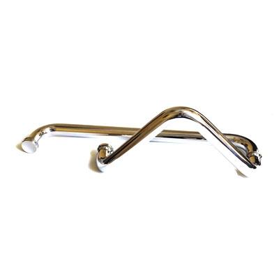 РС115 ручка-скоба комбинированная для стеклянной двери 25х275х425