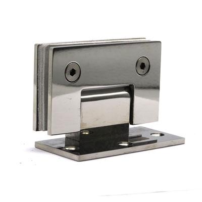 П002-304 петля стена-стекло AISI 304 со смещением площадки