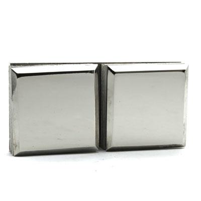 КН038-304 Коннектор 180 гр AISI 304 стекло-стекло