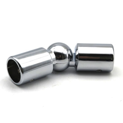 КВО118-08 Соединитель труба-труба произвольный угол (цинк)