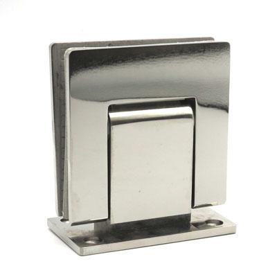 П500-1 петля с гидравлическим доводчиком стена-стекло 90гр AISI-304