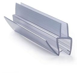 ПУ111-009В1-8 профиль уплотнительный для стекла 8 мм / 2,5 м