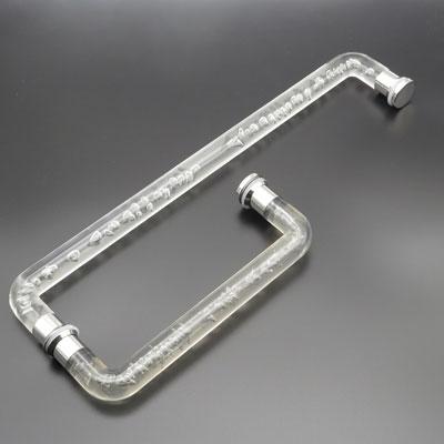 РП121-123 Ручка для стеклянной двери 25*225*425