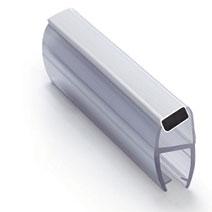 ПМ111-008CW-6 Профиль магнитный 135º для стекла 6мм, 2.2м.