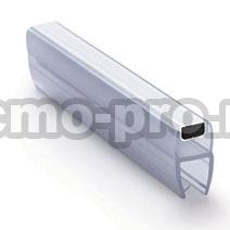 ПМ111-008BW Профиль магнитный для стекла 8 мм, 2.5м.