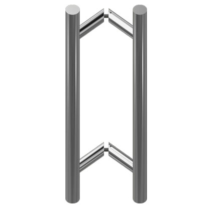 РС670 Ручка для стеклянной двери 32x625x800