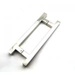 РС111 ручка-скоба двухсторонняя для стеклянной двери 25х25х400