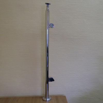 PR70-165 Стойка-стеклодержатель 38.1*950