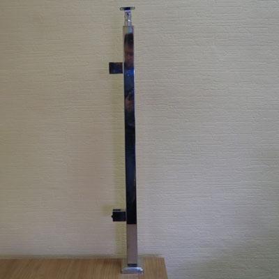 PR70-168 Стойка-стеклодержатель 40*40*950