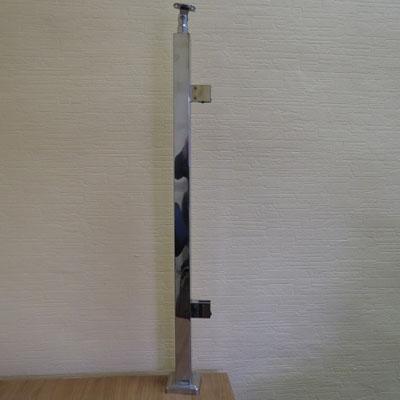 PR70-169 Стойка-стеклодержатель 40*40*950мм