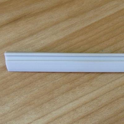 076 Уплотнитель для опорного профиля стекло 8мм