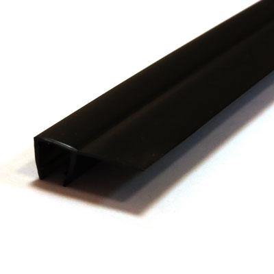 114-004-8 Профиль уплотнительный  BLACK 2.2м