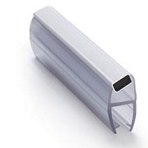 114-008CW-10 Профиль магнитный 10 mm 135 гр длина 2200мм