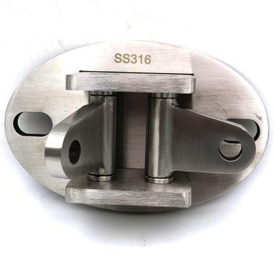 кз669-316 Крепление тяги к стене двойное