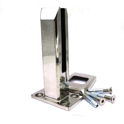 C028 Стойка для стеклянных ограждений