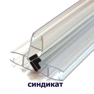 114-020-8 Профиль магнитный 2200мм стекло 8мм