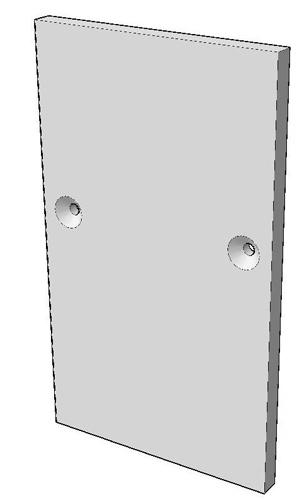 S-102Z Комплект торцевой заглушки