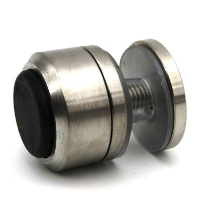 SND795-1 Ответная часть на стекло для напольного стопора